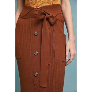 Prexy Knit Skirt Anthropologie Eva Franco